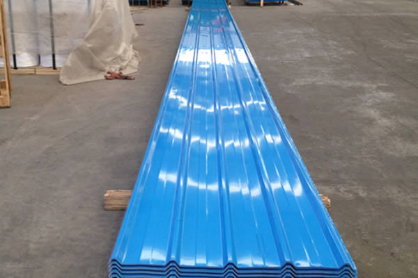 Color Corrugated Sheet