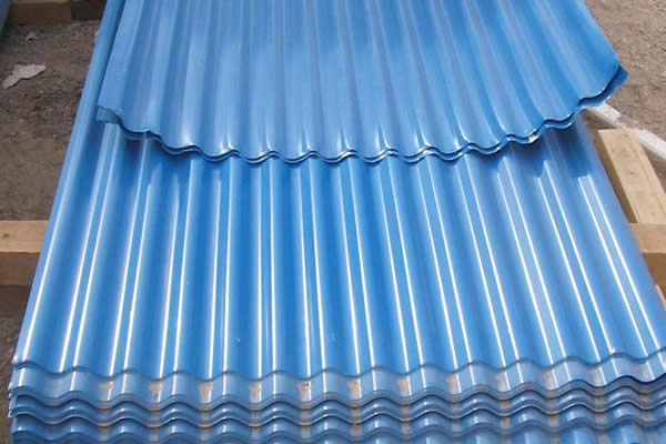 Waved Steel Sheet