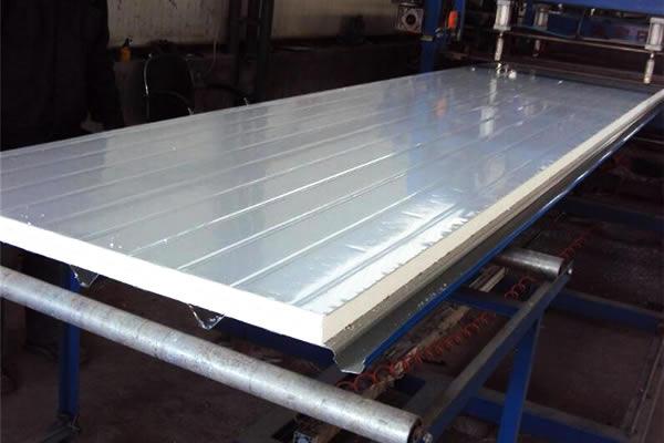 Foam Sandwich Panel Construction : Steel foam sandwich panel