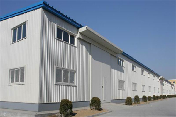 steel structure warehouse double storey