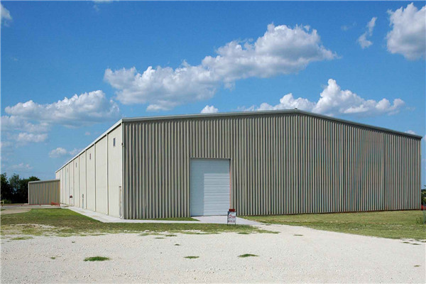 Steel structure modular prefab factory building