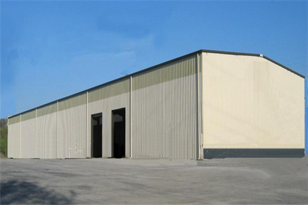 Steel Frame Industrial Factory Shed
