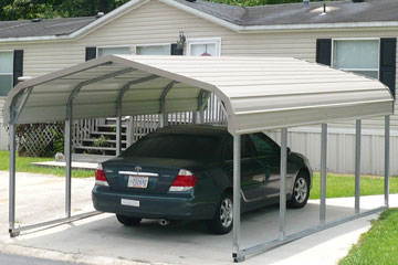 single car portable carports